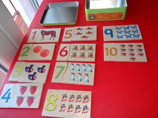 Materiales no Montessori