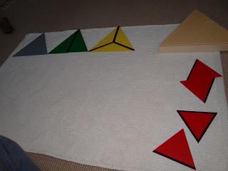 Segunda caja triángulos constructivos // Second box Constructive Triangles